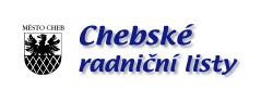 Chebské radniční listy LOGO