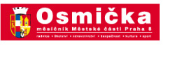 OSMIČKA - Praha 8 LOGO